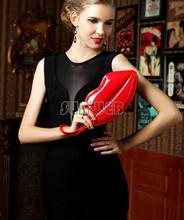 Wonderful New fashion preppy Lips new style bag Handbags women leather handbags women messenger bags 6 Colours SV003664