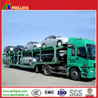 Double axles car carrier semi trailer used carry 9 cars for sale