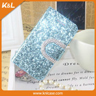 Mobile Phone PU Case for iPhone 4 Case, for iPhone 6 case, PU leather bling bling