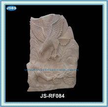 giardino di pietra decorativi intagliato aquila sollievo statua
