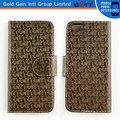 Novo celular caso 2014 para IPhone 5 g, Para Apple para o IPhone tampa Flip com alta qualidade Material de couro