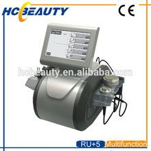 New technology 2014 cavitation rf slimming machine skin elasticity