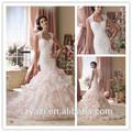Mz-006 hochwertigen latex hochzeitskleid hochzeitskleid Online-Shop slim fit hochzeitskleid