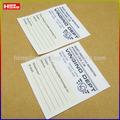 Custom abbigliamento propria etichetta& etichette in tessuto stampato