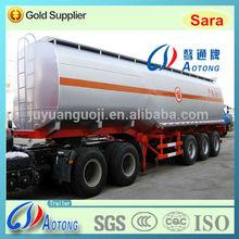 3-axle cheap tanker transportation semi trailer,tri axle oil fuel truck dimensions