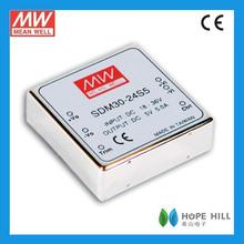 Meanwell SDM30-12S12 30W 225KHz DC to DC converter 12v DC power supply