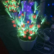 30cm led artificial christmas tree fiber optic