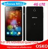 "Infocus M512 4g LTE phone cell phones Android 4.4 Qualcomm Quad-Core 5.0"" IPS 1G/4G mobile phone"