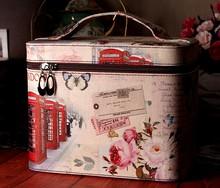 2014 new design travel cosmetic bag cosmetic Retro style