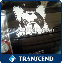 custom Printed pvc sticker adhesive custom car window decal