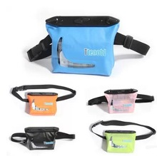 Waterproof waist storage bag case for swimming