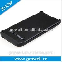 External power bank---backup external car battery case charger 2200mAh for samsung galaxy note 3