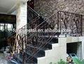 Exterior em ferro forjado escada/escada reta/da escada de metal