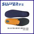 hecho en china para plantillas zapato de la plantilla del zapato suela de eva