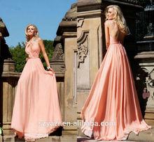 MZ-009 Flowing A Line Evening Dress Wholesale Evening Dress Online Shopping Princess Style Evening Dress