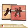 White Packing Paper Ribbon Boxes For Apparel