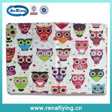 Cute owl cartoon cover case for ipad air