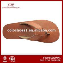 Popular stylish arabic leather sandal men