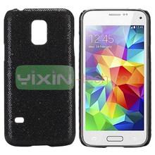 Black Glitter screen protector Case for samsung galaxy S5 Mini