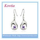 TOP SALE trendy 925 sterling silver drop earring