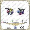 Pink Abalone Fashion cufflink parts