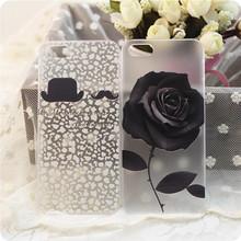 generic black rose phone case for iphone