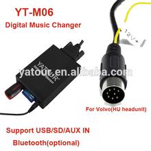 Yatour YT-M06 USB/SD/AUX/Bluetooth car radio MP3 player for Volvo HU-XXX