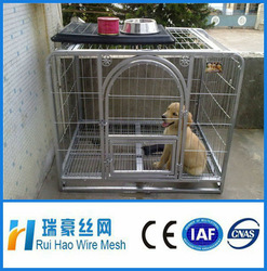 hot dipped galvanized chain link dog cage/cage dog kennel