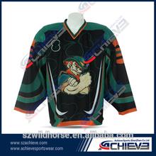 custom team maglie hockey sublimazione del ghiaccio jersey hockey