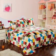 cheap polar fleece bed sheet for promotion