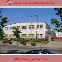prefabricated light steel frame warehouse workshop