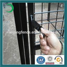 Hot dipped galvanized kennel for dog black dog kennels