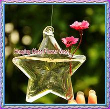 Hanging lucky star flower vase