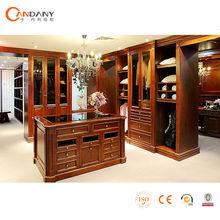 Elegant Wooden Wardrobe, glass door wardrobe