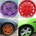 de alta calidad 400ml srpay vieja puede embalaje peelable de colores de pintura de caucho para los coches