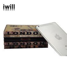 new mobile phone PU folding stand leather case for Ipad mini
