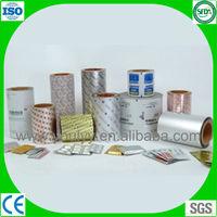 pharmaceutical aluminum foil