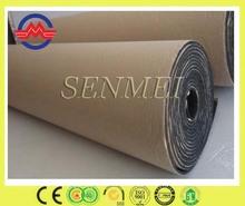 China black rubber foam sheet self-adhesive roofing felt
