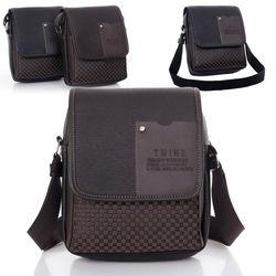 2014 New Arrival Fasion Mens Leather Crossbody Shoulder Messenger Bag men SV004504