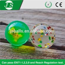 cheapest 32mm children's rubber bouncing ball for Vending Machines