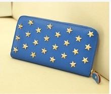 Star-shape Rivet Pattern PU Purse ,Lovely Wallet For Women