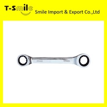 High quality hand tool open ended ratchet spanner