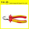 Professional Insulated Carbon Steel PVC Handle Long Nose Pliers Side Cutter Diagonal Pliers