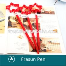 Wholesale Festival Gift Five Star, Long Stationery Novelty Shape Pen On Sale
