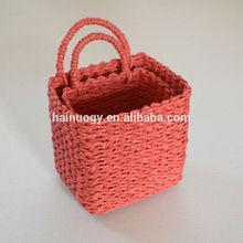 S/2 carta cesto con maniglie