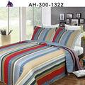 élégant colorés imprimés patchwork de coton à la main dessus de lit queen size