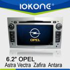 "6.2"" HD Touch screen opel astra lcd screen car radio with GPS, ipod, usb, dvd, camera, dvb-t"