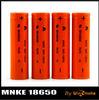 Hot Selling!!! Original MNKE IMR 18650 Battery 1500mah Rechargeable Battery