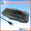 melhor qualidade de multimídia com fio laser desktop teclado