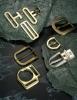 Belt buckle, belt accessories, metal buckle